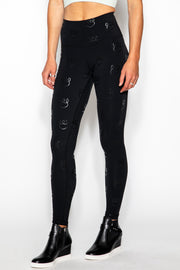 KadyLuxe Queen Gloss Tonal 7/8 Legging