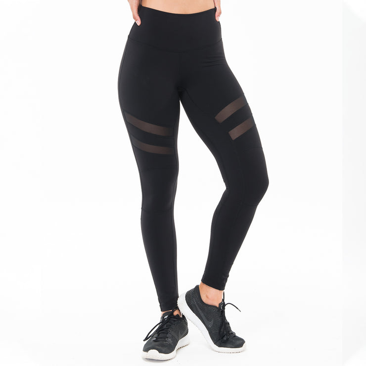 Black Mesh Madness Legging