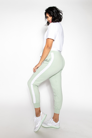Milky Way Silk Jogger