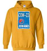 COW-22: A Self-own By Devin Nunes / Hoodie