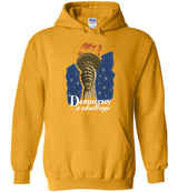 Democracy A Challenge: WPA Poster / Hoodie
