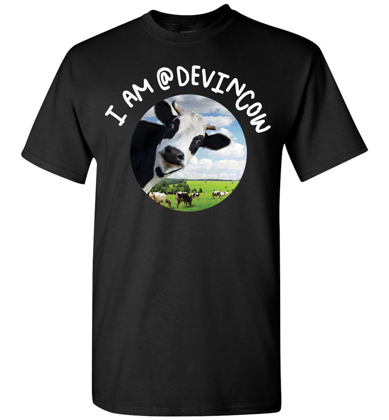 I AM @DEVINCOW / Men's Tee
