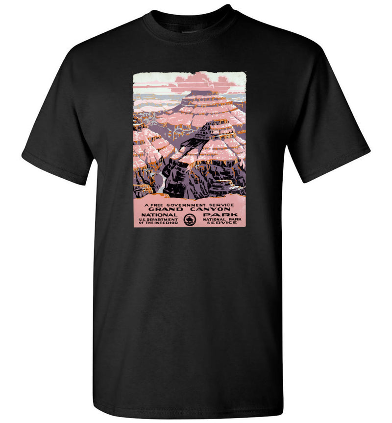 Grand Canyon WPA Poster / Men's Tee