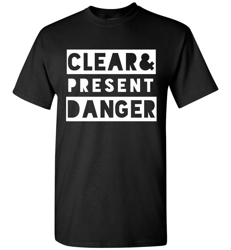 Clear & Present Danger / Men's Tee