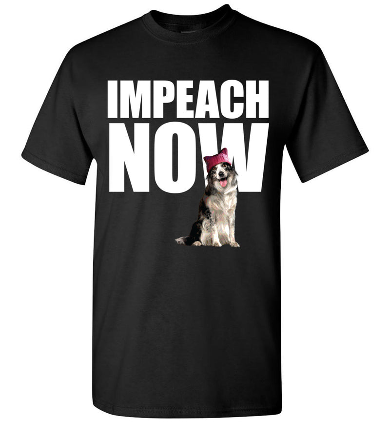 Impeach Now Stark Resistance Collie / Men's Tee