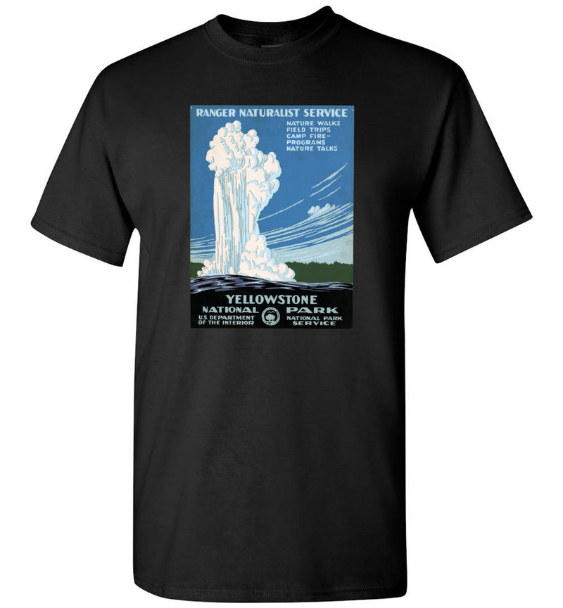 Yellowstone WPA Poster / Men's Tee