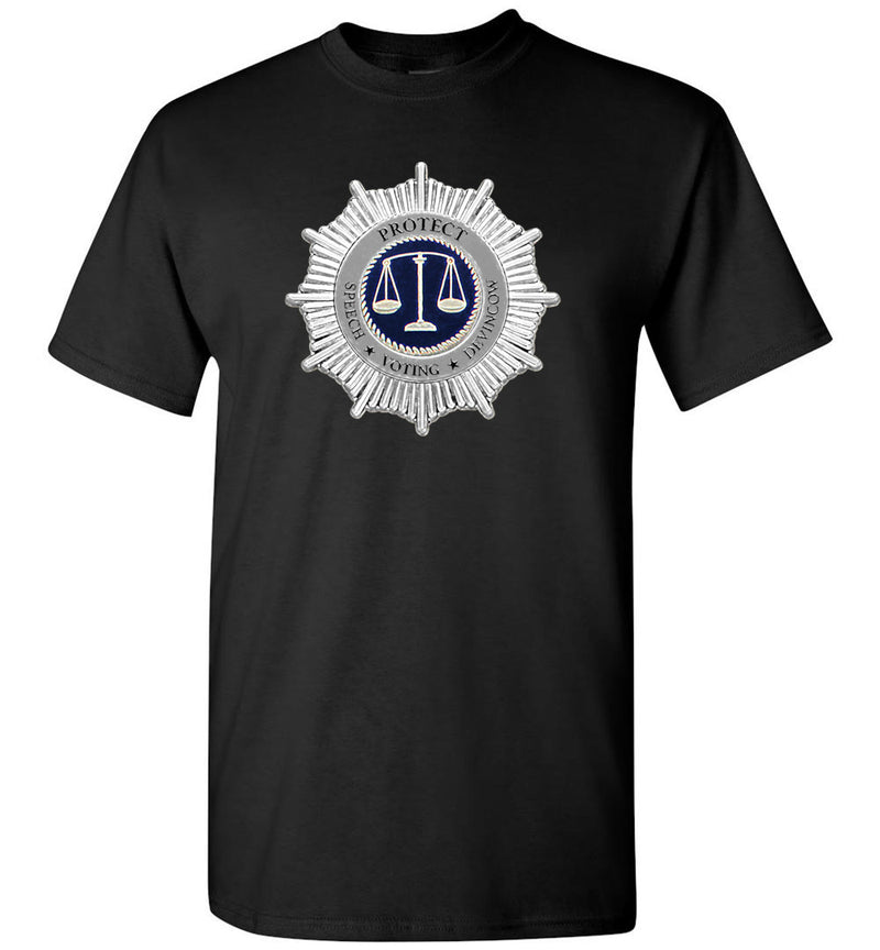 Protect Speech-Voting-DevinCow Justice / Men's Tee