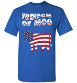Freedom Of Moo / Men's Tee