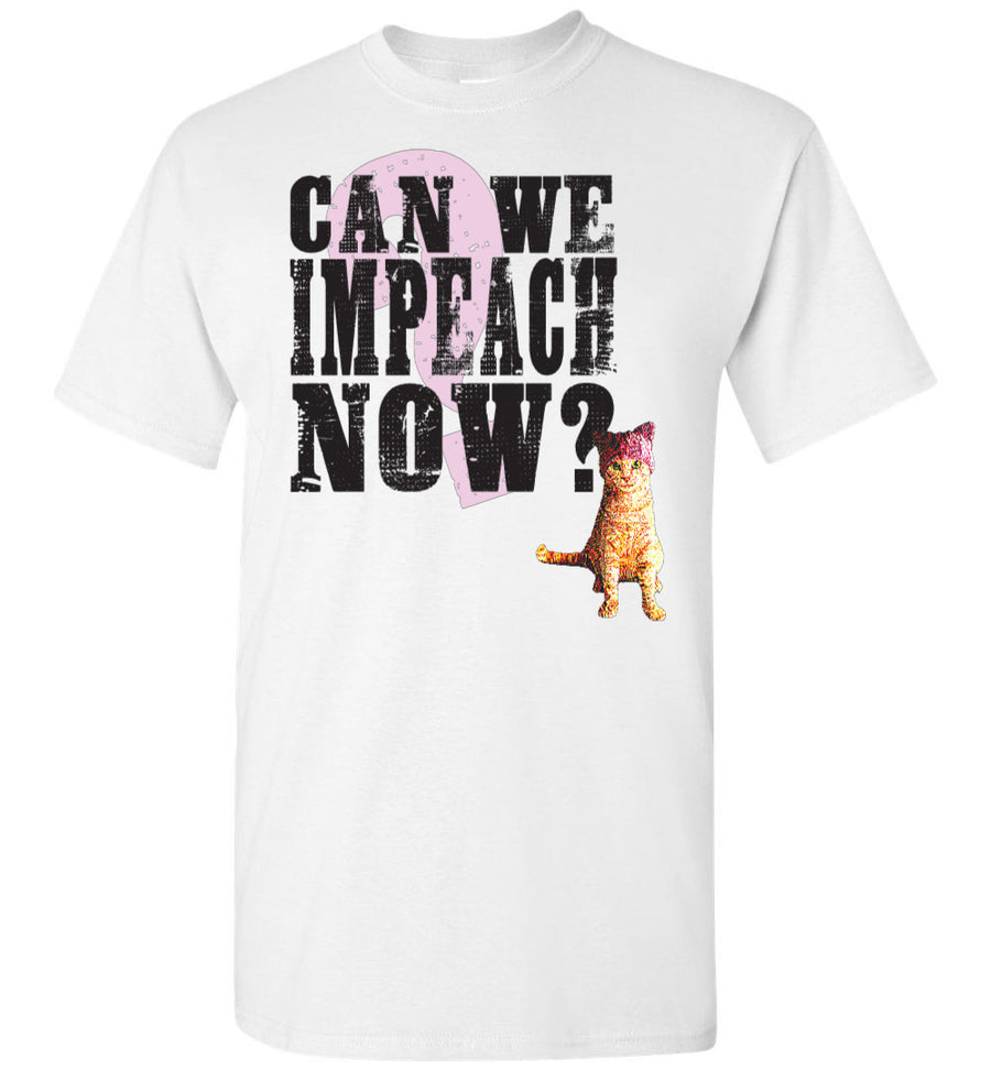 Can We Impeach Now? Resistance Kitty / Men's Tee