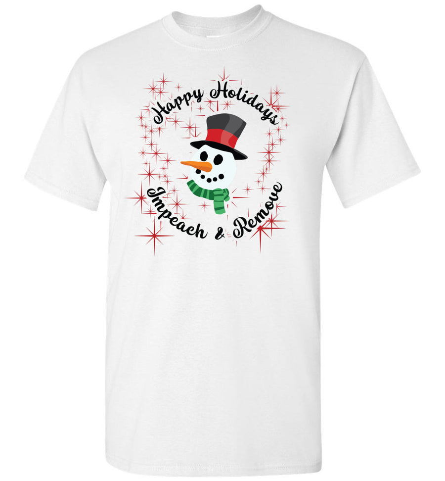 Happy Holidays: Impeach and Remove / Men's Tee