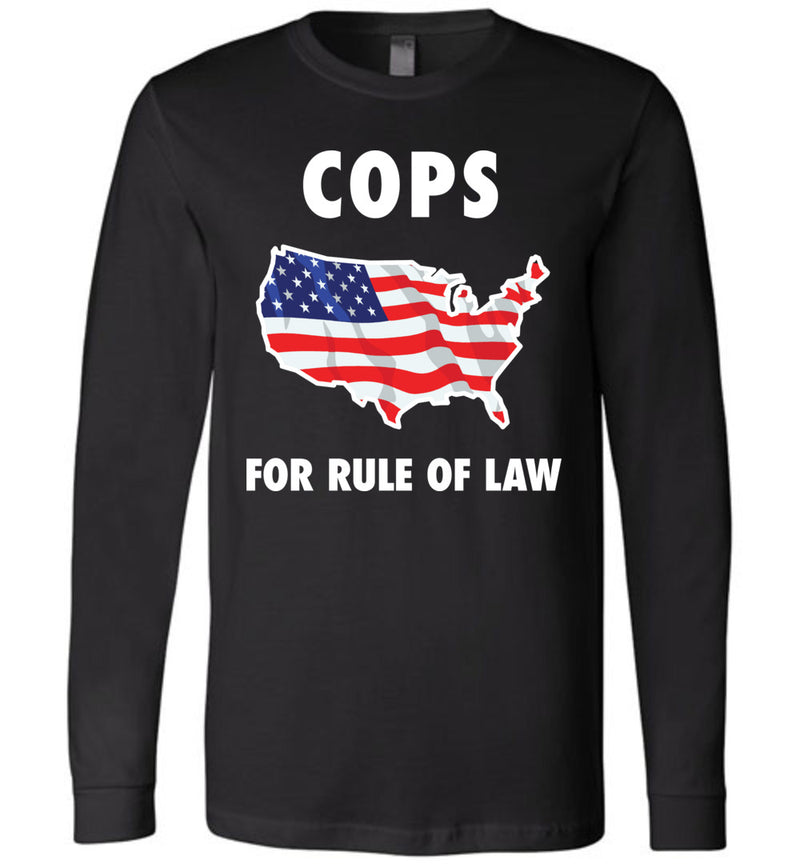 Cops for Rule of Law / Unisex Long-sleeve Tee