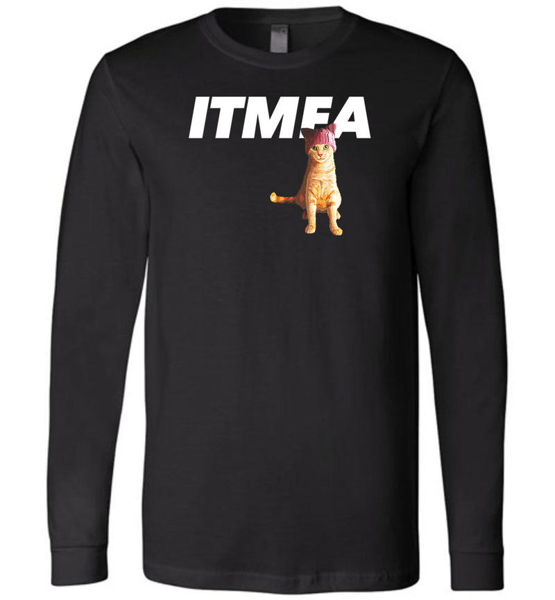 ITMFA Resistance Kitty / Unisex Long-sleeve Tee