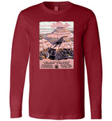 Grand Canyon WPA Poster / Unisex Long-sleeve Tee