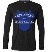 Devin Cow Is My Spirit Animal / Unisex Long-sleeve Tee