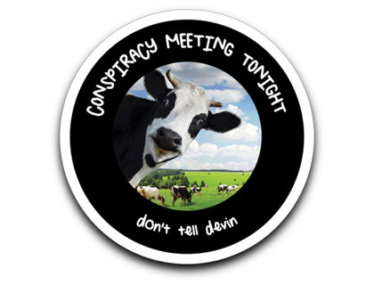 Devin Nunes' Cow's Conspiracy Meeting / Sticker