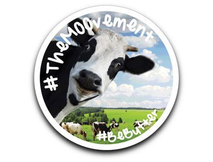 #TheMOOvement / Sticker