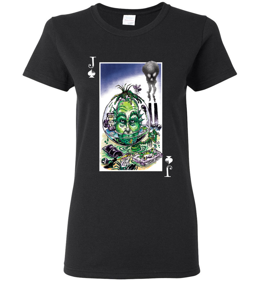 unPresidented: Jack of Spades / Women's Semi-fitted Tee