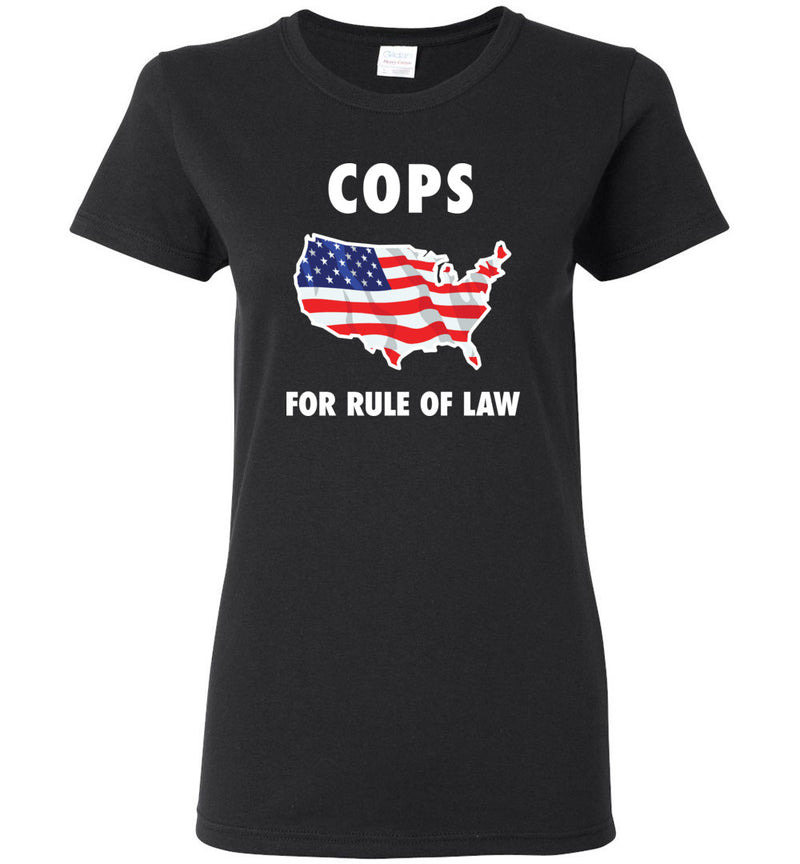 Cops for Rule of Law / Women's Semi-fitted Tee