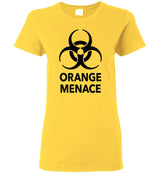 Orange Menace / Women's Semi-fitted Tee