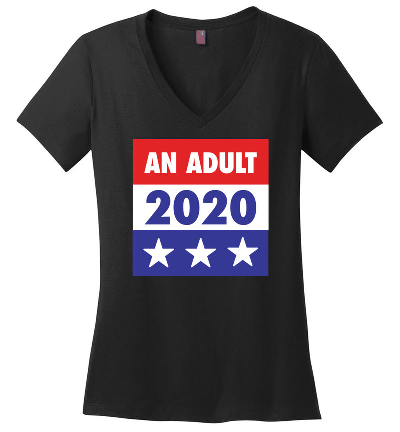 An Adult 2020 / Women's V-neck Tee