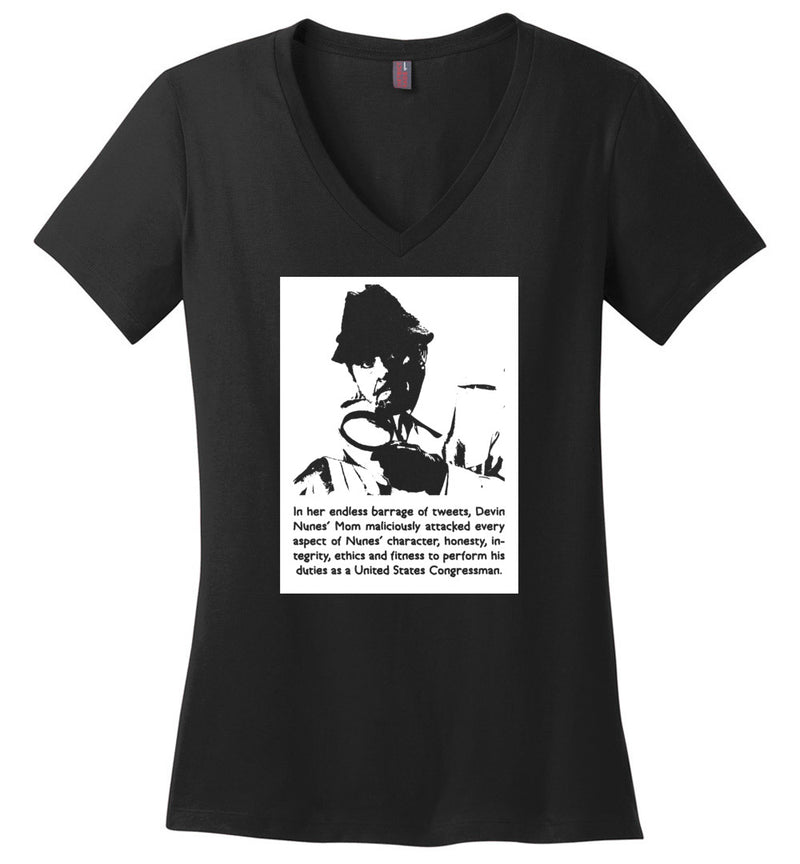 Endless Barrage of Tweets / Women's V-neck Tee