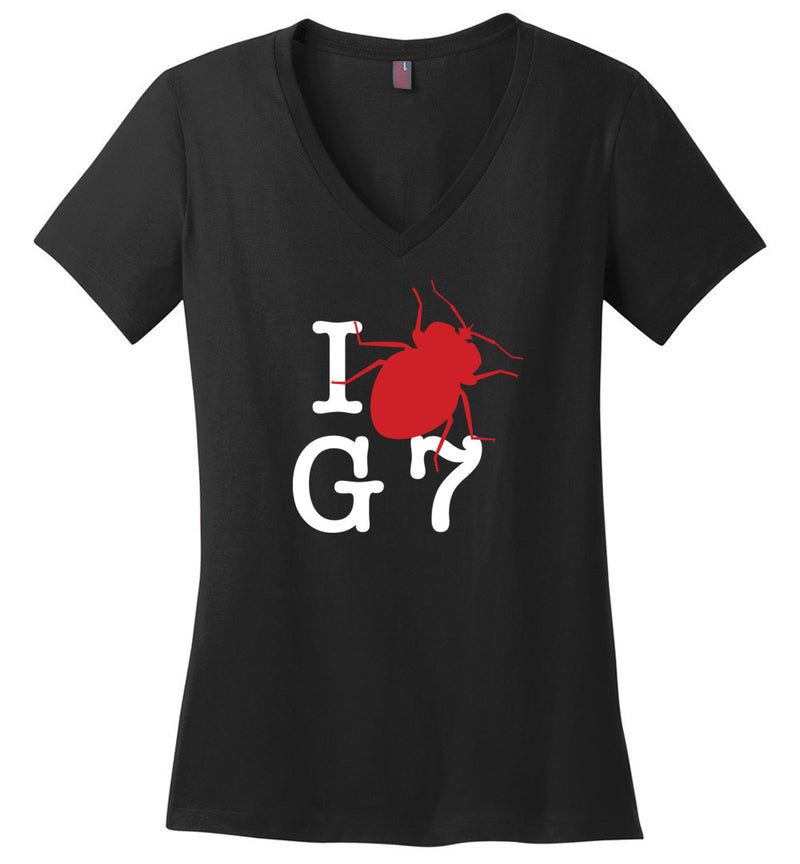 I bug G7 / Women's V-neck Tee