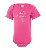 Li'l Drinker / Fine Jersey Infant Bodysuit