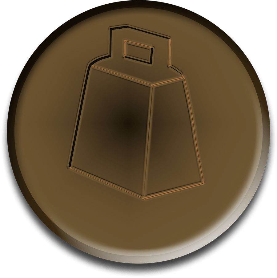 Virtual Bronze Cowbell