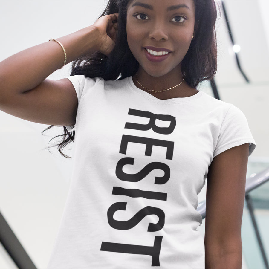 Camila Cabello RESIST / Women's Semi-fitted Tee