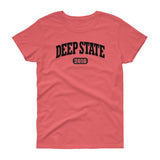 DEEP STATE 2016 / Women's Semi-fitted Tee