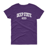 DEEP STATE 2016 / Womens Semi-fitted Tee
