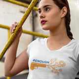 #ENOUGH / Women's V-neck Tee
