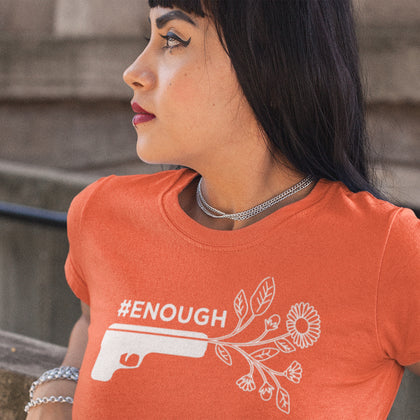 #ENOUGH / Women's Semi-fitted Tee