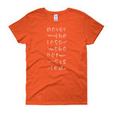 Nevertheless Natural / Women's Semi-fitted Tee