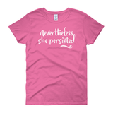 Nevertheless / Women's Semi-fitted Tee