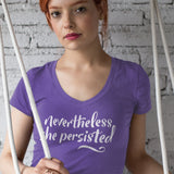 Nevertheless / Women's V-neck Tee