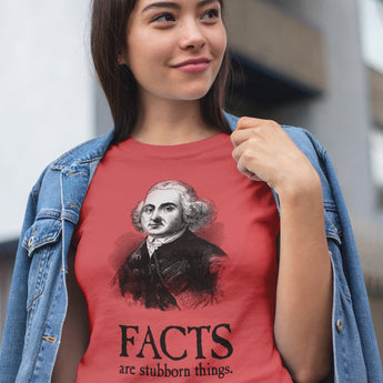 Facts are Stubborn Things / Women's Semi-fitted Tee