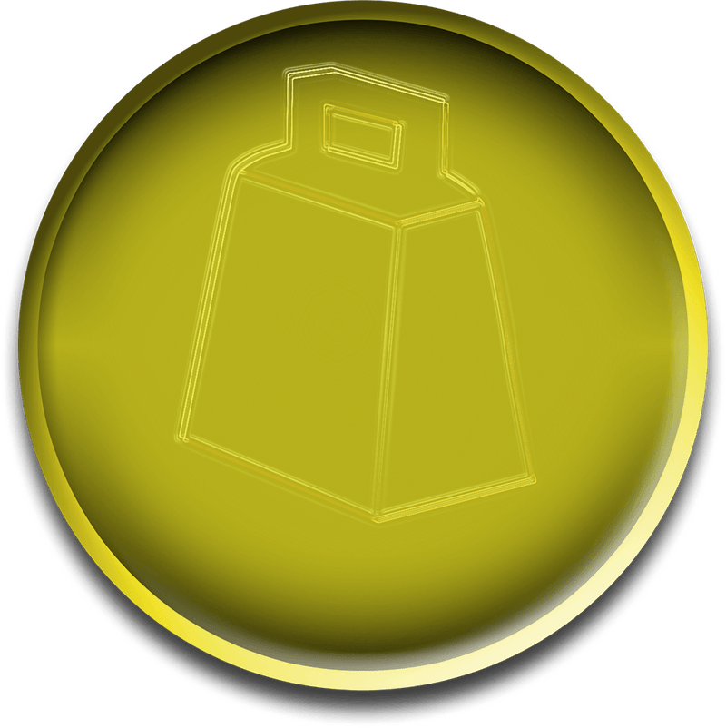 Virtual Gold Cowbell