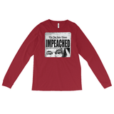 IMPEACHED / Long-sleeve Tee