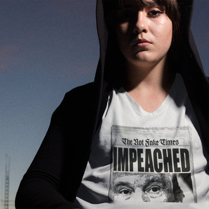 IMPEACHED / Women's V-neck Tee