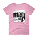 IMPEACHED / Women's Semi-fitted Tee