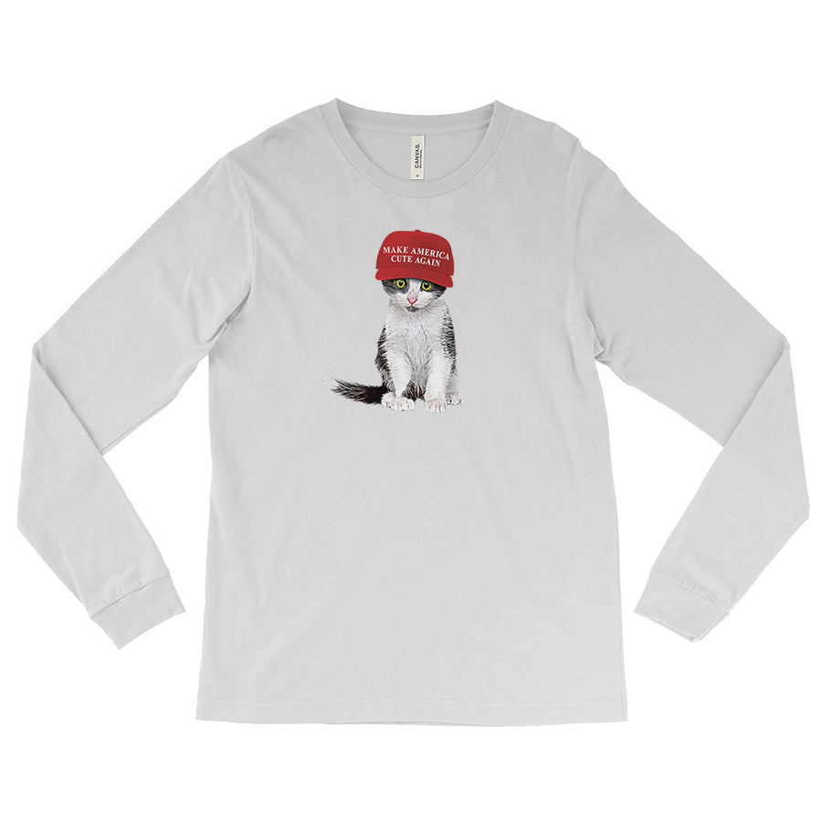 MACA Kitten / Long-sleeve Tee