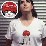 MACA Kitten / Women's V-neck Tee