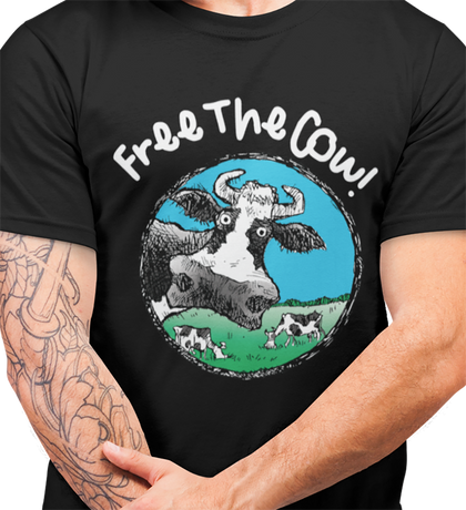 #FreeTheCow / Women's Semi-fitted Tee