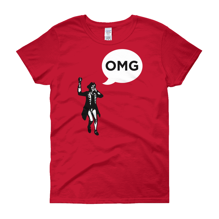 Oyez, Oyez, Oyez! OMG! / Women's Semi-fitted Tee