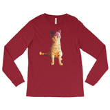 Resistance Kitty / Long-sleeve Tee