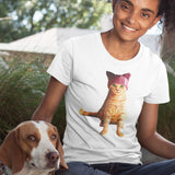 Resistance Kitty / Women's Semi-fitted Tee