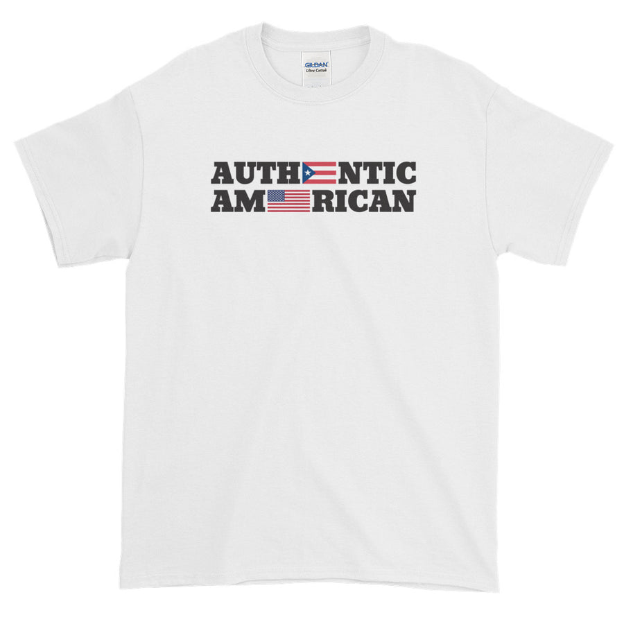 Authentic Puerto Rican American / Men's and Youths' Tee