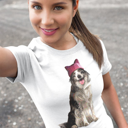 Resistance Collie / Women's Semi-fitted Tee