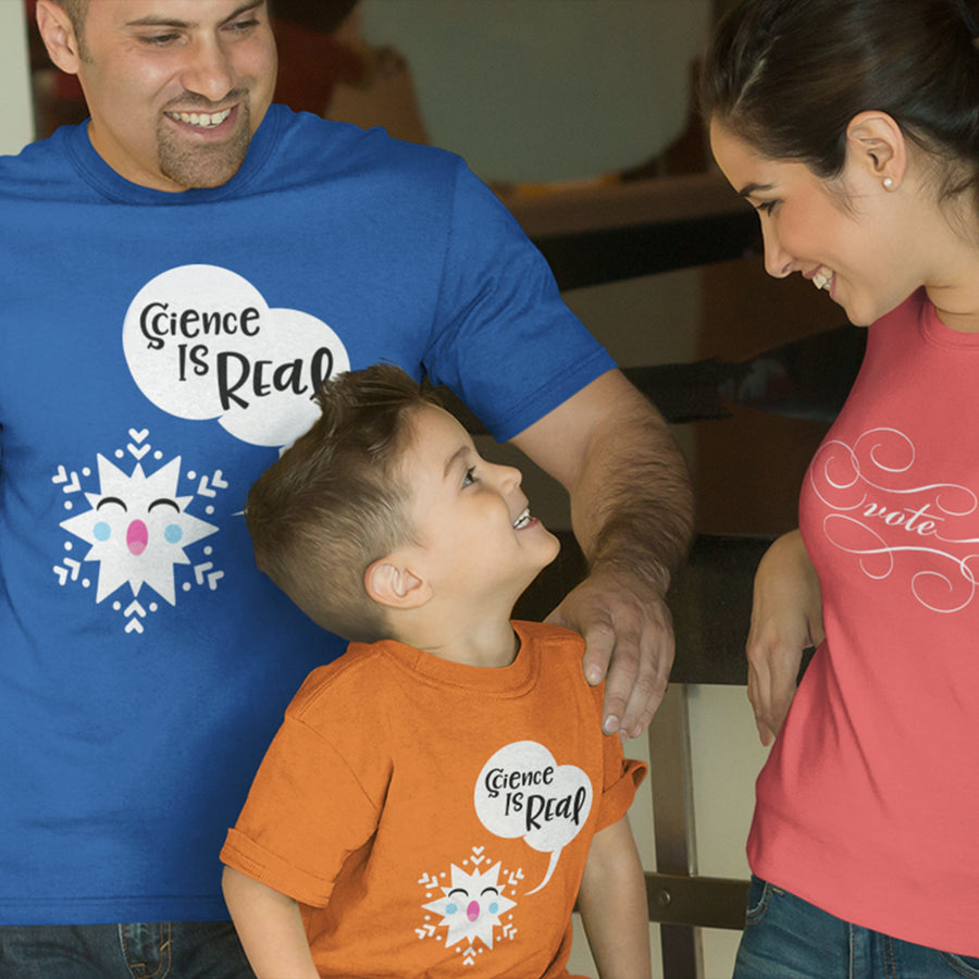 Special Science-y Snowflake / Men's and Youth's Tee